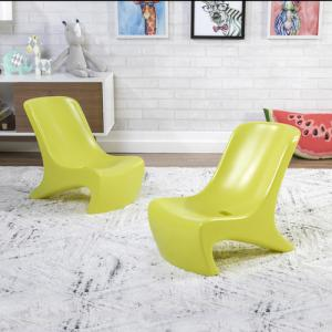 JUNIOR CHIC 2-PIECE CHAIR SET™-LIME
