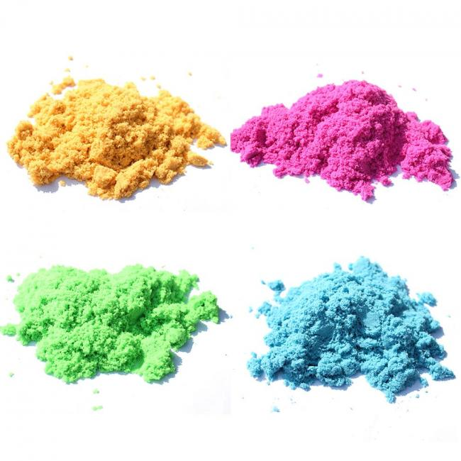 Colorful Playing Sand